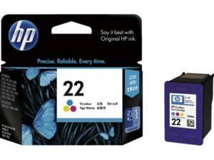 HP 22 Tintenpatrone Cyan/Magenta/Gelb (C9352AE)