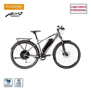 Alu-Elektro-Mountainbike Graveler EHM 200 29er • Fahrunterstützung bis ca. 25 km/h • 5 Unterstützungsstufen • AEG Li-Ionen-Akku 48 V/10,4 Ah, 499 Wh • Reichweite bis ca. 120 km (je nach Fah