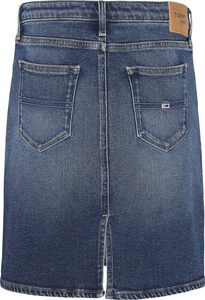 TOMMY JEANS Jeansrock »CLASSIC DENIM SKIRT AMBS« mit Tommy Jeans Logo-Badge & Flag