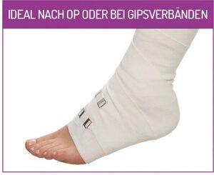 Fußgut Gesundheitssocken »Sensitiv Elegant Socken XXL« (1-Paar) Weitschaft, Rollbund