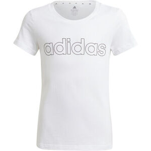adidas T-Shirt, Baumwollstoff, für Mädchen