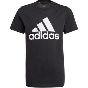 adidas T-Shirt, großer Logodruck, für Jungen