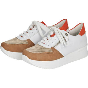 Rieker Sneaker, zweifarbig, Schnürung, Reißverschluss, für Damen