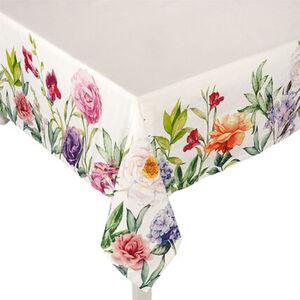 "Galeria home Tischdecke ""Blüten/Rosen"", farbenfroh, gemustert, 130x160 cm"
