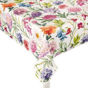 Galeria home Mitteldecke, Blumen, Allover-Muster, 100x100 cm