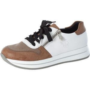 Rieker Sneaker, zweifarbig, Schnürung, Reißverschluss, Label-Badge, für Damen