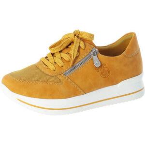 Rieker Sneaker, uni, Plateau, Schnürung, für Damen
