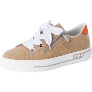 Rieker Sneaker, Plateau, Kunstleder, Reißverschlussdetail, für Damen