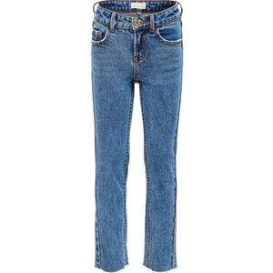Jack & Jones Jeans, 7/8, Straight Leg, High-Waist, 5-Pocket, für Mädchen
