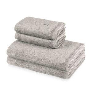 Möve 4er Handtuch Set Superwuschel, 2x Handtuch 50 x 100 cm & 2x Duschtuch 80 x 150 cm