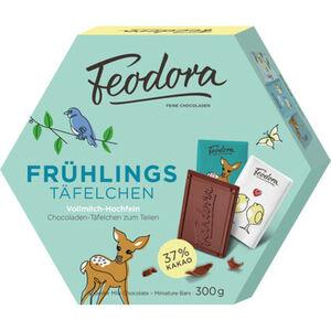 Feodora Frühlings-Täfelchen Vollmilch Hochfein, 300 g