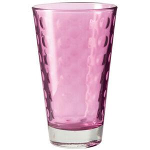 "Leonardo Trinkbecher ""Optic"", Glas, 300 ml, lila"