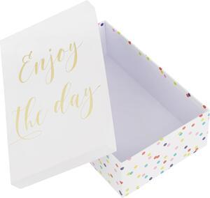 Geschenkbox Dreams Weiß