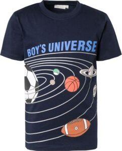 T-Shirt   von ZAB kids blau Gr. 104/110 Jungen Kleinkinder