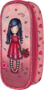 Etuibox Gorjuss Sparkle&Bloom love grows rot Mädchen Kinder