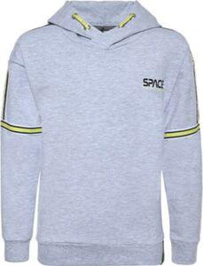 Sweatshirt  hellgrau Gr. 128 Jungen Kinder