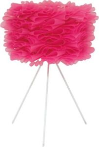 """Tischleuchte """"Volant"""", H43cm pink"""
