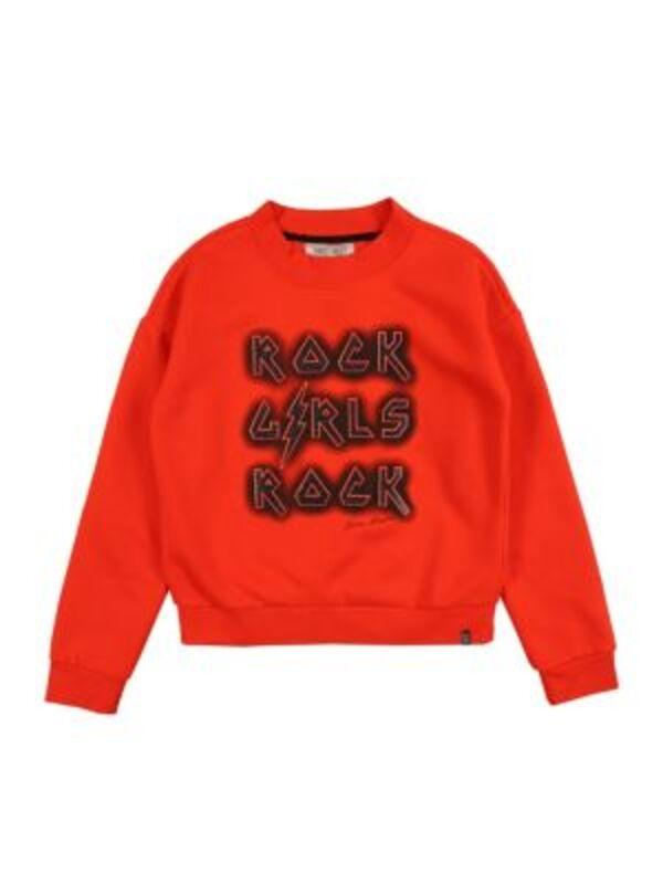 sweatshirt yule Sweatshirts schwarz Gr. 128 Damen Kinder