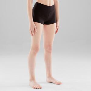 Tanzhose kurz enganliegend Modern Dance Mädchen schwarz