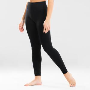 Leggings Modern Dance nahtlos Mädchen schwarz