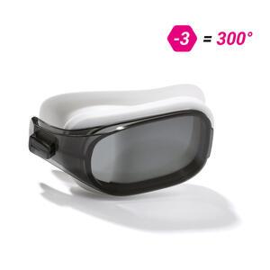 Schwimmbrillen-Glas Stärke -3.00 für Schwimmbrille Selfit Größe L getöntes Glas