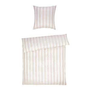 Curt Bauer Bettwäsche jacquard sandfarben  2044 Como  Textil