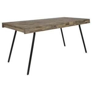 Carryhome Esstisch teakholz massiv rechteckig teakfarben  Suri -Trend-  Holz