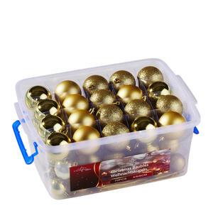 XXXLutz Christbaumkugel goldfarben  871125249049  Kunststoff