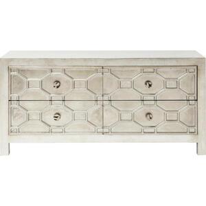 Kare-Design Sideboard silberfarben  Alhambra  Metall