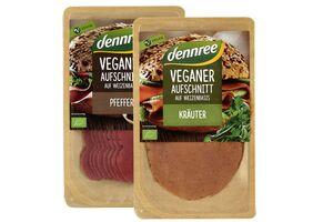 Veganer Aufschnitt, verschiedene Sorten