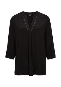 Damen Bluse mit Tunika-Ausschnitt
