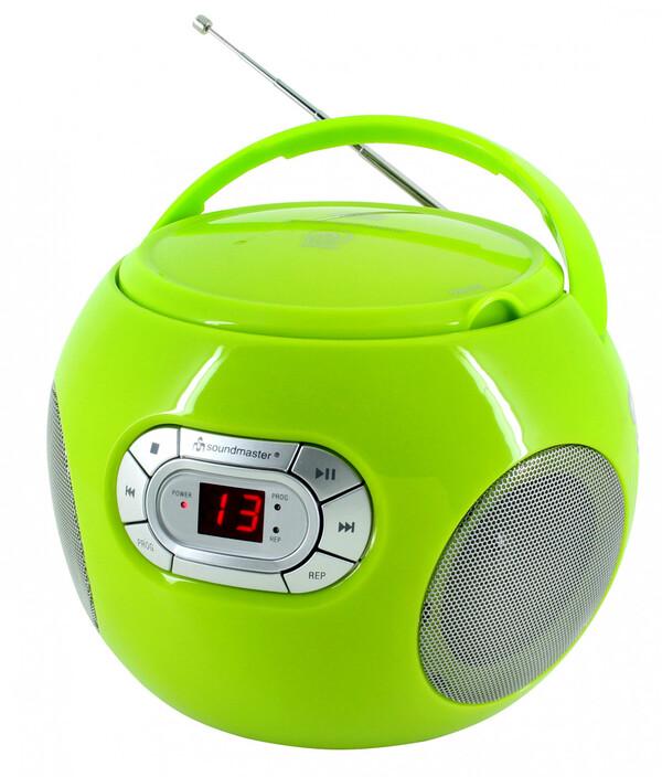 Soundmaster CD-Boombox SCD120, grün