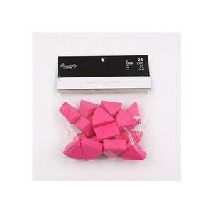 18er-Pack Make-up-Schwämmchen/Kosmetikschwämmchen, 3,5 x 3,3 x 2 cm, rosa