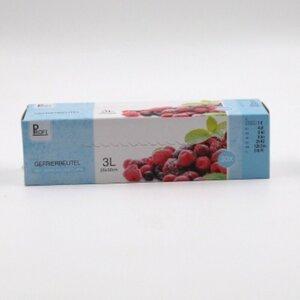 30er-Pack Gefrierbeutel mit Verschlussclip, 3 l, Polyethylen