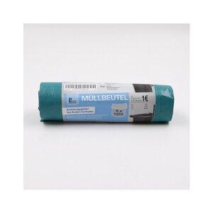 5er-Pack Müllsäcke, 120 l, LDPE, blau