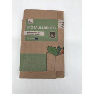 Bio-Müllbeutel, 10er-Pack, 10 l