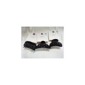 Haarkrebs, Ornament, ca. 8 x 3 x 5 cm, matt schwarz,  verschiedene Designs