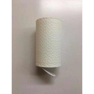 Zahnputzbecher, weiß, gehämmert, Ø 6 cm