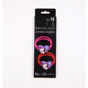 2er-Pack Knicklicht Armbänder Einhorn