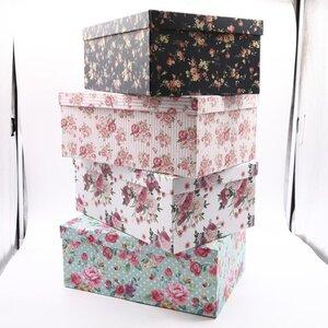 """Geschenkbox """"Blumen"""" verschiedene Größen und Motive"""