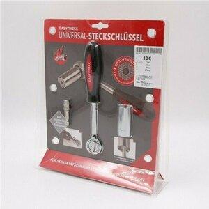easy Maxx Universal-Steckschlüssel inkl. Adapter für Akku-Schrauber