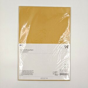 10er-Pack Versandtasche B4, 35,3 x 25 cm, braun