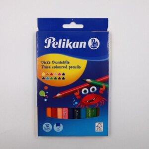 Pelikan 12er-Set Jumbo-Buntstifte, farbig sortiert
