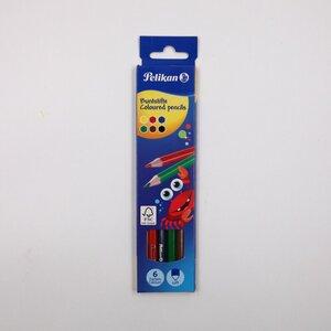 Pelikan Buntstifte 6er-Pack Stifte Malstifte Farbstifte