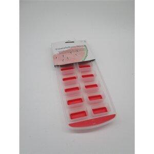 Eiswürfelform, flexibel, 24 x 12 x 2,5 cm, verschiedene Farben