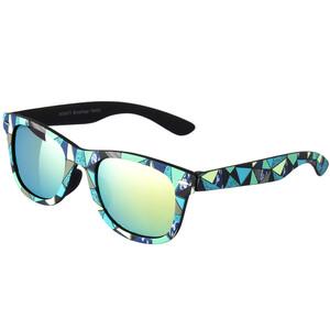 Jungen Sonnenbrille mit buntem Muster