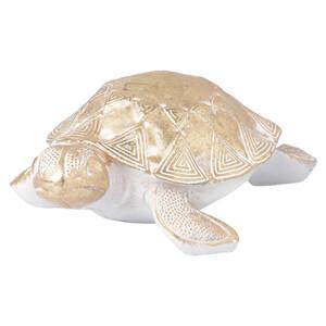 Deko-Schildkröte in Gold-Optik