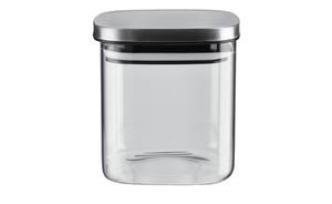 Aufbewahrungsglas - transparent/klar - Glas , Metall - Küchenzubehör & Helfer > Vorratsbehälter - Möbel Kraft