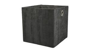 Aufbewahrungsbox - grau - Karton - Aufbewahrung > Aufbewahrungsboxen - Möbel Kraft