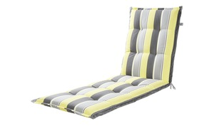KETTLER Polska Liegenauflage  Stripes - gelb - Garten > Auflagen & Kissen - Möbel Kraft